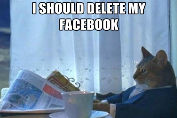 effacer compte facebook