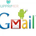 effacer compte gmail sous tablette android