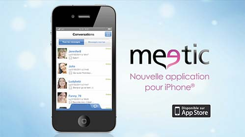 effacer compte meetic iphone