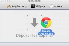supprimer application sous mac