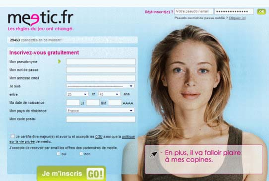 Meetic version pc
