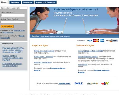 effacer compte paypal