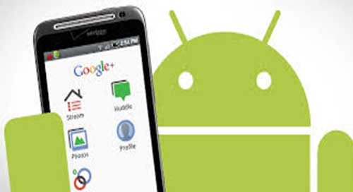 effacer google+ sur android