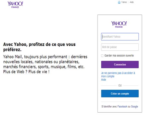 supprimer compte yahoo mail