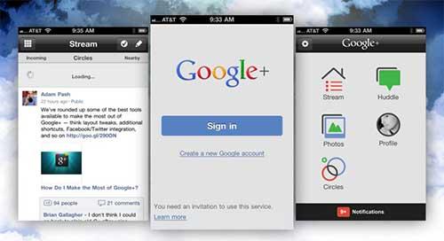 supprimer google plus sur iphone
