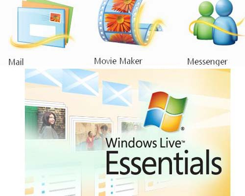 effacer sur windows essentials