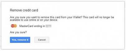 enlever carte bancaire sur android