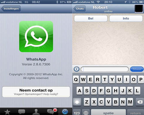 supprimer whatsapp sur iphone