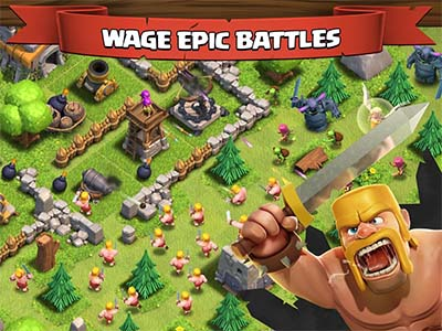 supprimer village clash of clan