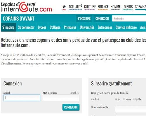 Copains d'avant, le Facebook français, fait son come back