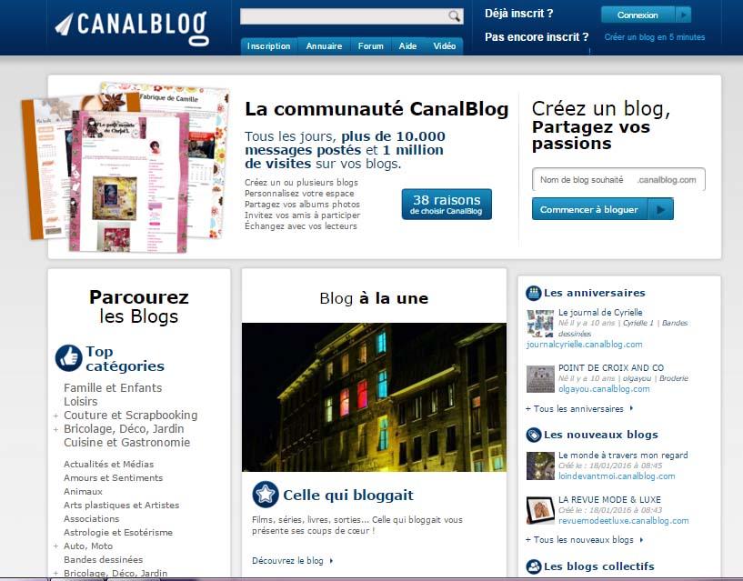 supprimer blog canalblog
