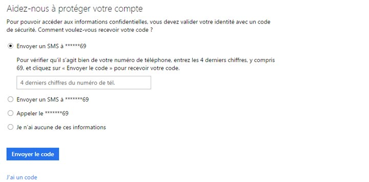 outlook messagerie