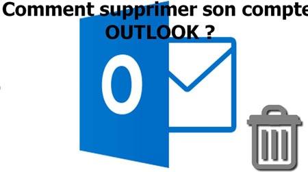 Supprimer un compte connecté à partir d'Outlook