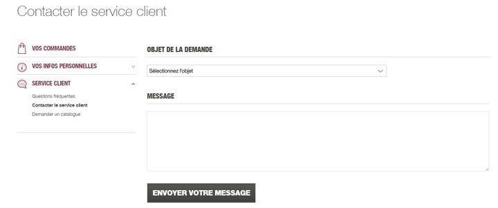 contacter service client Damart