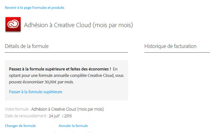 supprimer compte adobe id