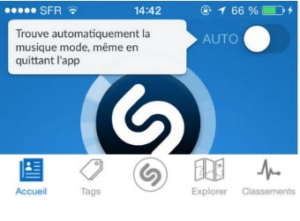 supprimer votre compte de l'application Shazam