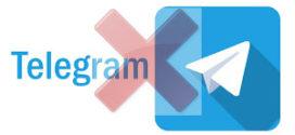 Supprimer un compte Telegram
