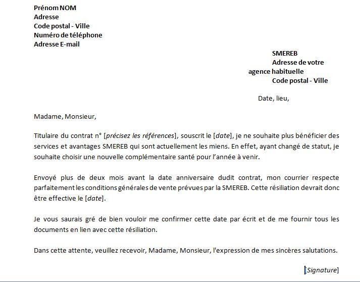 Resiliation Modele De Lettre De Retractation De Contrat Lusocarrelage