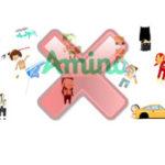 supprimer un compte Amino