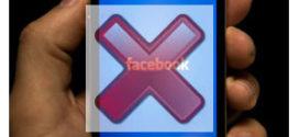 Comment supprimer un compte facebook sur telephone?