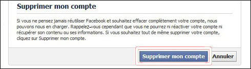 supprimer un compte facebook sur téléphone.