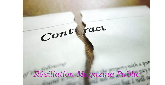 Résilier abonnement magazine public