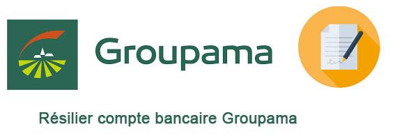 Résilier compte bancaire groupama