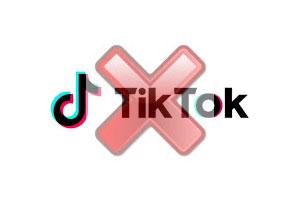 Supprimer un compte Tik Tok