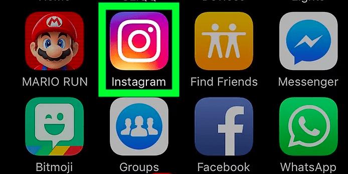 supprimer une photo sur instagram