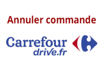 Annuler ma commande Carrefour Drive