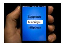tutoriel pour supprimer historique de navigation sur téléphone
