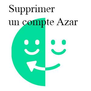 Supprimer un compte Azar