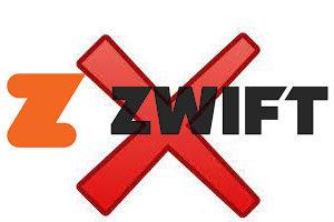 Supprimer un compte Zwift